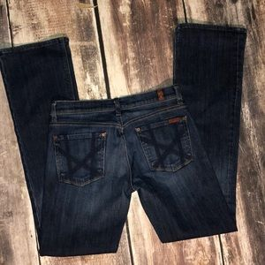 7 for all mankind jeans size 29